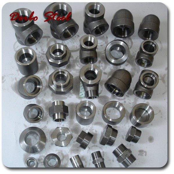 Forged Carbon/Stainless Seamless Steel Pipe Fittings