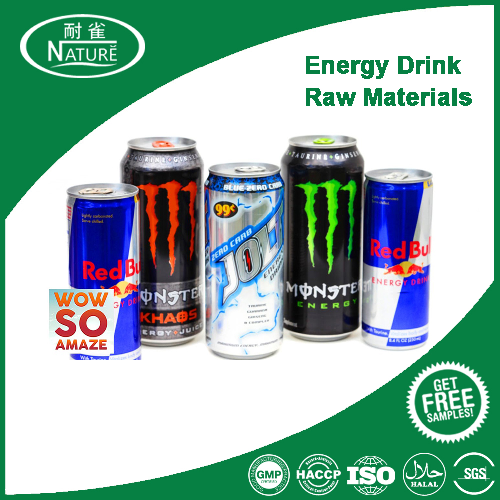 Factory Direct Sale Energy Drink Raw Materials and Formulation