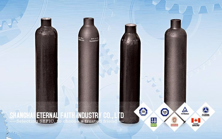 2017 Competitive Price(171) Paintball Aluminum Alloy Gas Cylinder