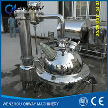 QN High efficient Milk Tomato Ketchup Vacuum Industrial Evaporator Vacuum Industrial Juice Machine vacuum evaporator