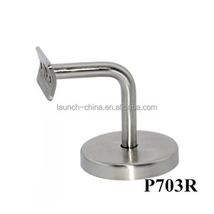 Handrail Brackets for Wall and Post Mounting of Metal or Wood Handrails