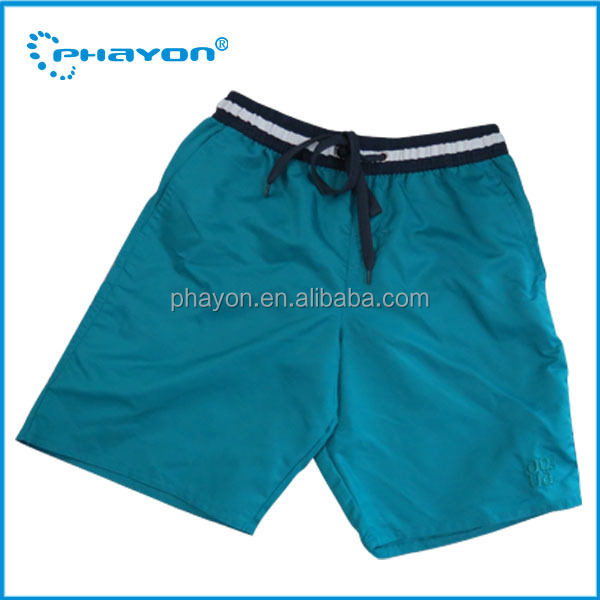 Polyester / Nylon Material and Washed Technics men polyester nylon board shorts supplier