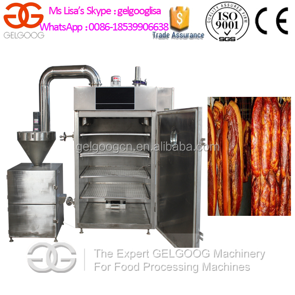 GELGOOG Brand Stainless Steel Bacon Smokehouse/Sausage Smoking Oven