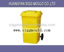 big wheel trash bin mould mold