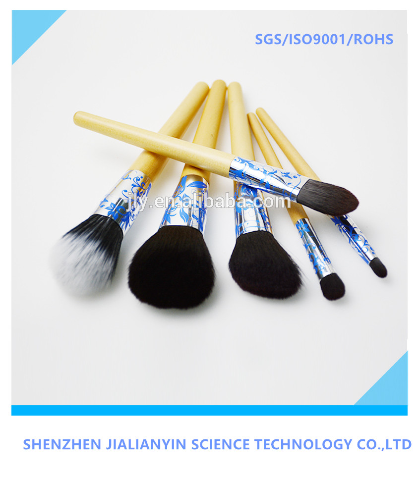 Custom made high quality cosmetic make up brush use of animal hair