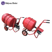 Electric manual cement mixer/Electrical engine 240V portable sand cement mixing machine for sale