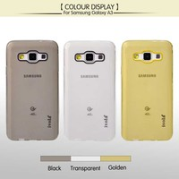 Cheap Transparent soft TPU phone case for samsung galaxy A3