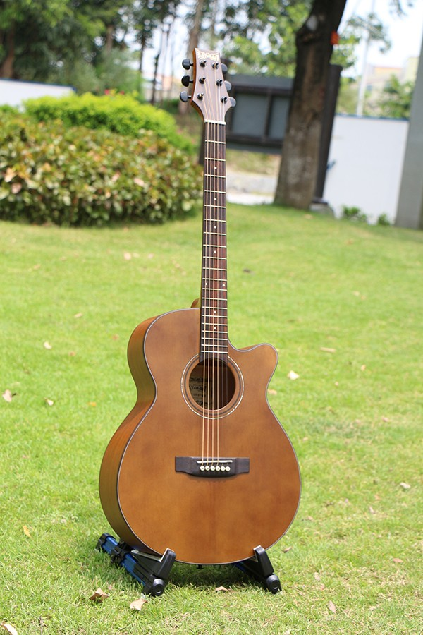BM-99 40 inch new model solid spruce acoustic guitar