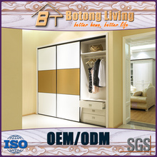 Botong Living W26 high gloss lacquer printed sample bedroom wardrobe