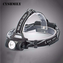 CYSHMILY USB 18650 Energizer Miner Custom Elastic Bands emergency 3mode high power rechargeable headlamp