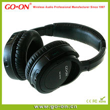High quality bluetooth stereo headphone with folding design