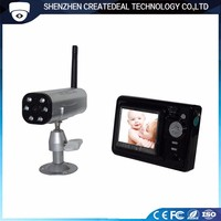 2.5 inch screen 2.4GHz wireless smarter security night vision baby monitor camera video recording