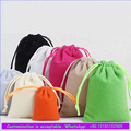 Colorful velvet gift bags wholesale drawstring dust bags