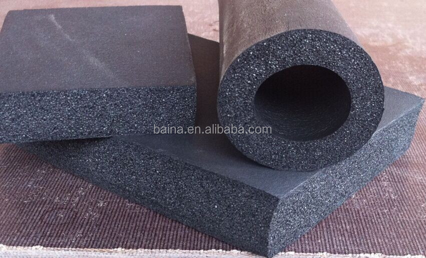 Rubber Plastics Industrial Insulation Pipe Or
