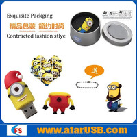 Creative Gifts 32GB USB waterproof,lovely Cartoons,Despicable Me USB 3.0
