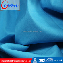 high quality plain weave cotton moleskin polished cotton fabric