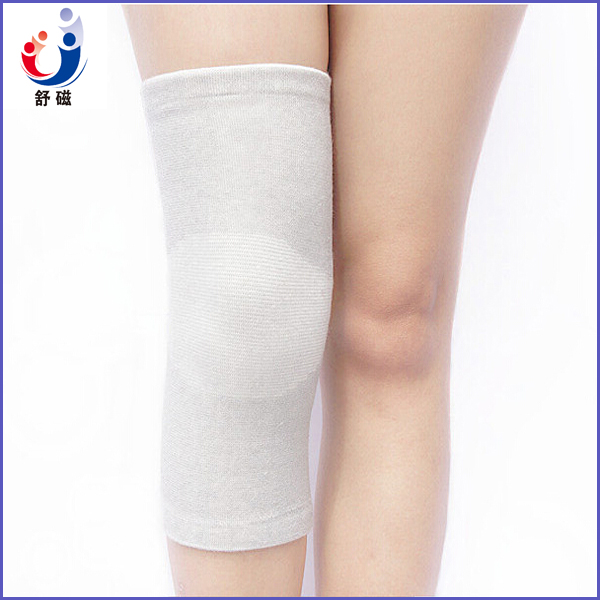 FDA sport bamboo charcoal fiber compression knee sleeves CE proved elastic knee protection support knee sleeves(ZA-01E)