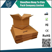 Customized new arrived packaging wholesale recyclable carton boxes raw material