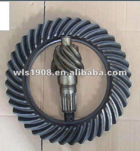 TRUCK SPARE PARTS / CROWN WHEEL PINION / DRIVER CONE GEAR 7:43