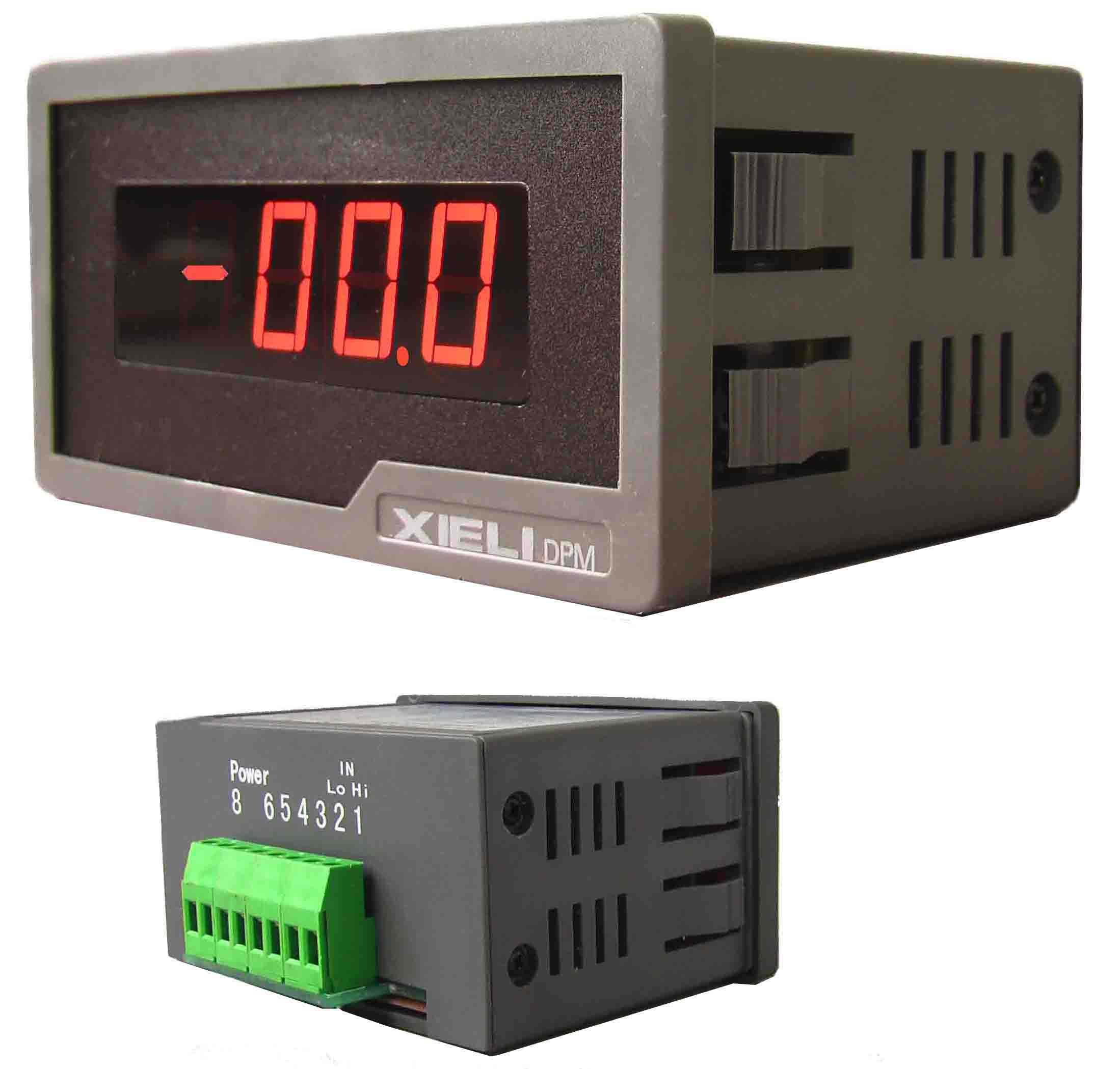 Digital Panel Meter : Rs digital ammeter voltmeter panel meter buy