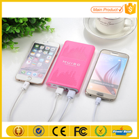 Universal Portable High Quality Mobile Cut Cartoon Power Bank In Shenzhen