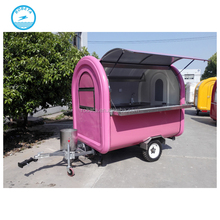 popular lowest remorque food truck for sale