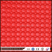 300T polyester taffeta embroidery padded P/D fabric