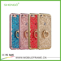 2017 Case Back Cover Fashion Popular Crystal Soft TPU 4 inch Phone Cases 3D Luxury Slim Case for iPhone 5s
