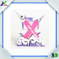 Small Cheap DIY Toy 3D EPS Puzzle/Paper Puzzle 3D as Promotional Giveaways Gifts