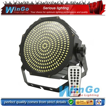 324pcs infrared ray strobe flat par / led flat strobe par light/ led flat par light white
