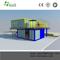 Cheap and modern container hotel/prefab hotel/modular hotel