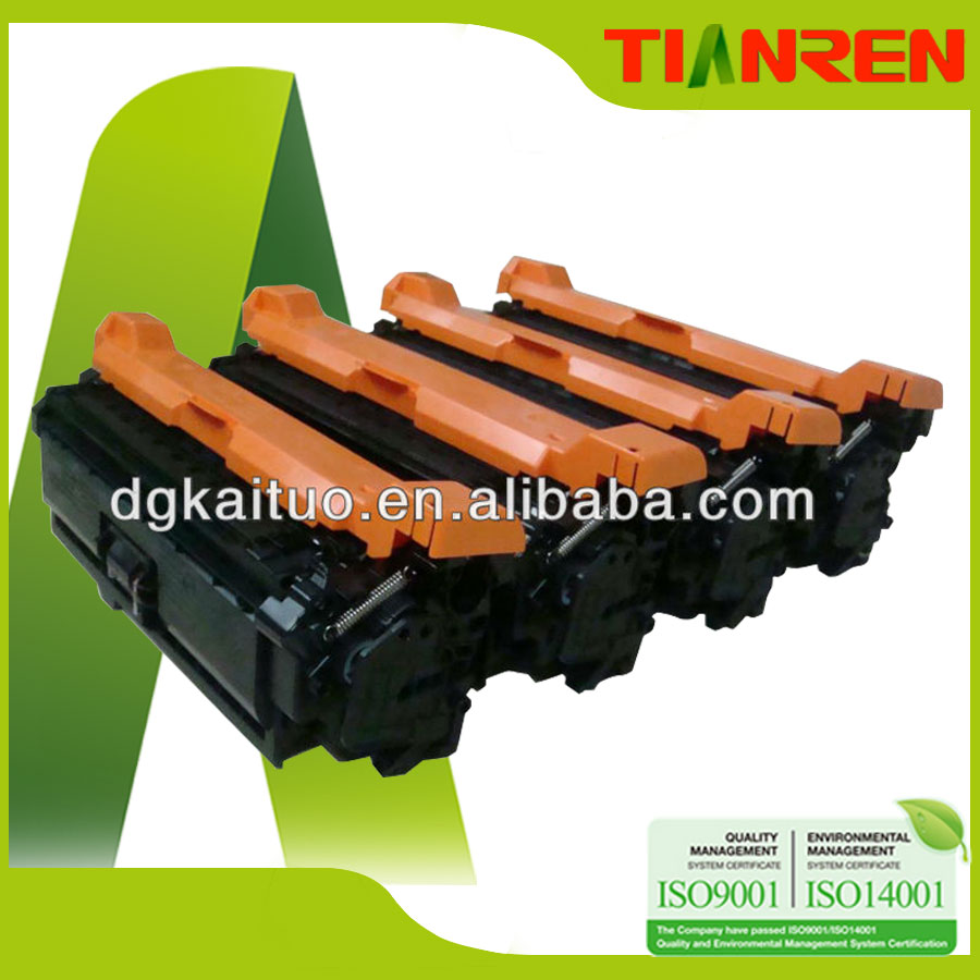 Cartridges empty compatible China premium CE740 Cartridge Toner 307A for laserjet HP CP5225 CP5225n CP5225dn
