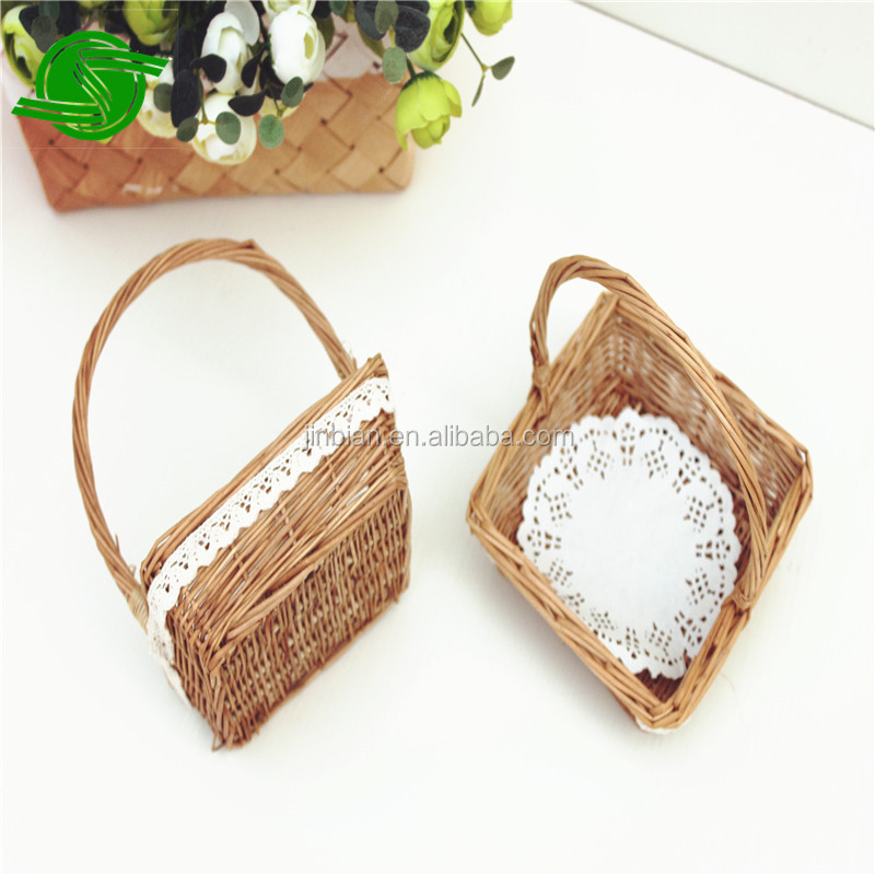 wholesaler small wicker basket willow gourmet basket handmade gifts wicker empty cheap wicker baskets