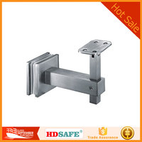 China indoor stair railing fittings supplier stainless steel stair handrail bracket