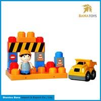 High precision kid funny DIY block children car toy