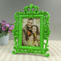 Made in china decorated Girl's Birthday Gifts Lovely girl photo frame with Crown