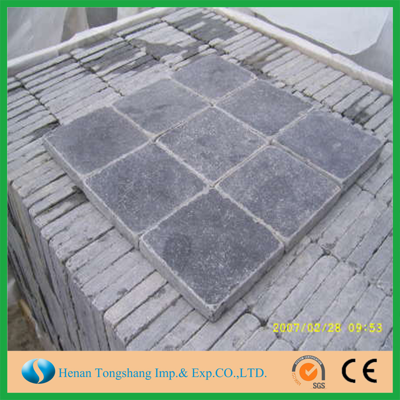 China nature blue limestone product with high quality