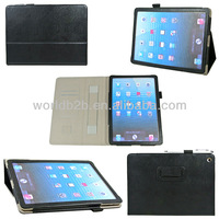 Stand Leather Case For Apple iPad Air , ipad 5/ ipad5