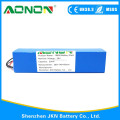 36v 10ah 18650 Lithium ion Battery pack for Two Wheel Balancing Car