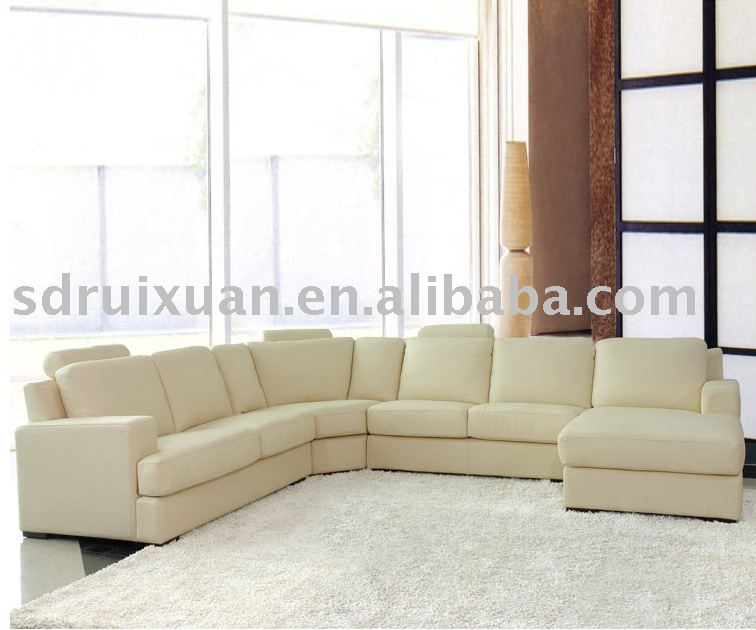 Leather/Fabric Sectional sofa/modern furniture manufacturer