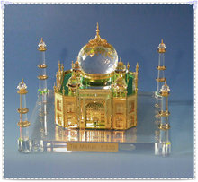 Wholesale Famous Crystal Building Taj Mahal Model For Souvenie Gifts