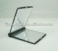 Top sale Square Led light gift promotion cosmetic mirror/pocket mirrir/make up mirror