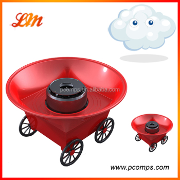 Laomu Hot Sale Machine For Cotton Candy with Bamboo Sticker