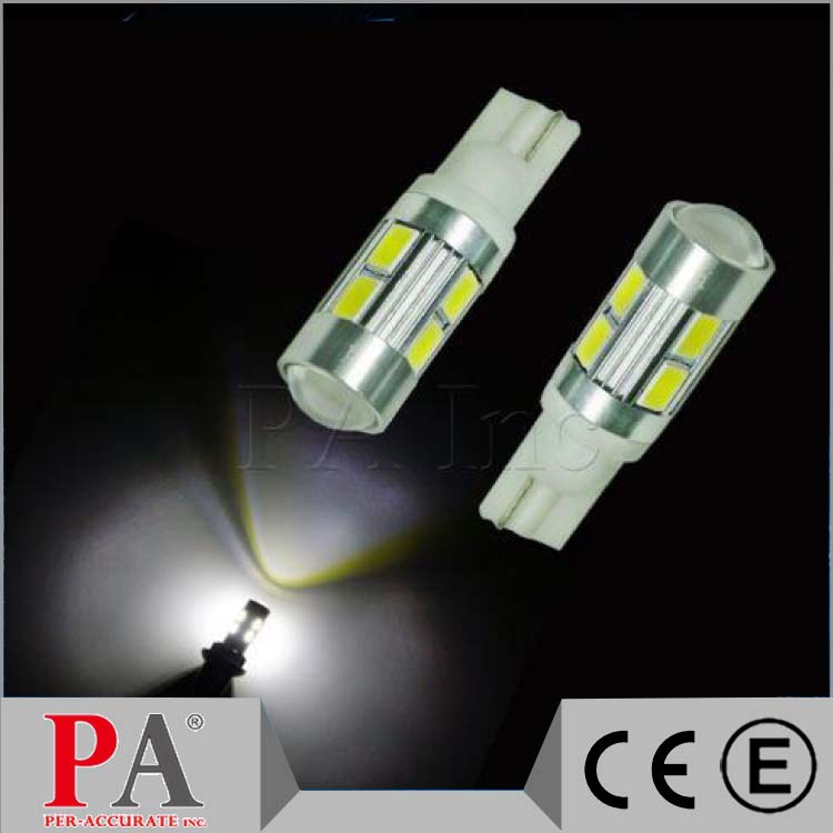 Factory Price Wholesale T10 T15 #555 W5W 921 194 10 5630 SMD Lens LED For Car Auto Sidelight Lamp Bulb