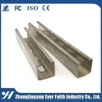Wholesale Galvanized High Quality C Channel Steel