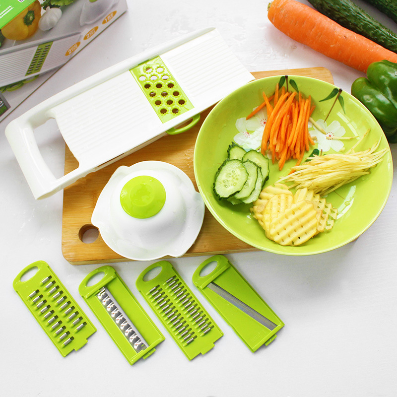 Cheap Oem 5 Pcs Multi Vegetable Slicer And Grater Chopper ...