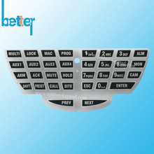 Custom Made Screen Printing Silicone Rubber Keypad
