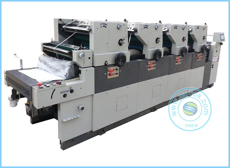 Four color high quality coding computer direct offset printing machine
