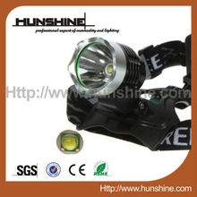 10-watt cree t6 led headlights with 4*18650 battery