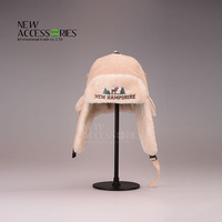 Boys suede earflap winter hats with sherpa fleece